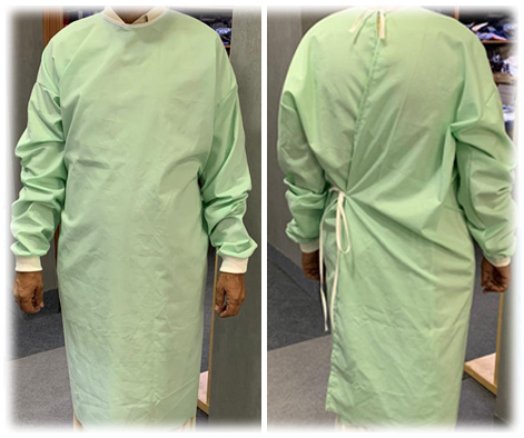 Reusable OT Gown